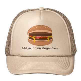 Modifique este gráfico de la hamburguesa para requ gorros