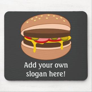 Modifique este gráfico de la hamburguesa para requ tapetes de ratones