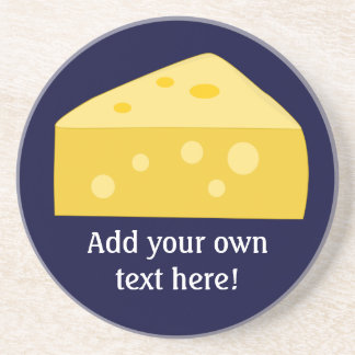 Modifique este gráfico grande del queso para requi posavasos personalizados
