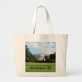 Modifique la foto de la Casa Blanca para requisito Bolsa Tela Grande