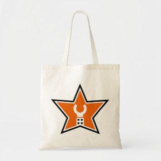 Modifique la mi bolsa de asas del logotipo para re