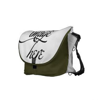 Modifique la su bolsa de mensajero del carrito par bolsas messenger