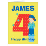 Modifique la tarjeta del cumpleaños para requisito