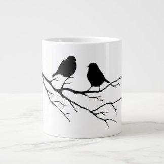 Modifique los pájaros del color para requisitos taza grande
