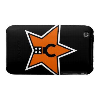 Modifique mi logotipo de Minifig para requisitos iPhone 3 Fundas