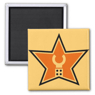 Modifique mi logotipo del negocio para requisitos imán cuadrado