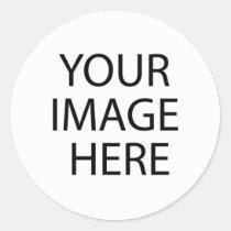 Modifique para requisitos particulares con su pegatina redonda