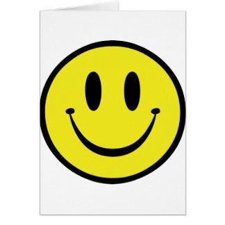 Modifique su cara para requisitos particulares fel tarjeta de felicitación