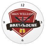 Modifique su logotipo conocido de la cervecería pa reloj