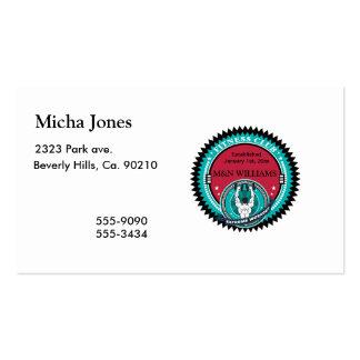 Modifique su logotipo extremo conocido del tarjetas de visita