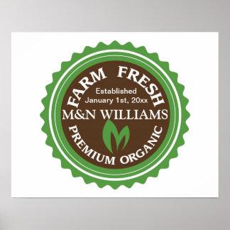 Modifique su logotipo orgánico conocido de la gran impresiones