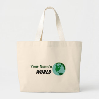 Modifique su mundo para requisitos particulares bolsas de mano