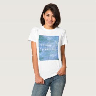 Modifique su para requisitos particulares camisas