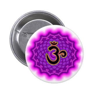 Modifique su propia corona Chakra de la lona para Chapa Redonda 5 Cm
