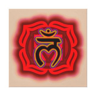 Modifique su propia raíz Chakra de la lona para Lona Envuelta Para Galerías
