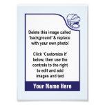Modifique su propia tarjeta de comercio para requi cojinete