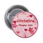 Modifique su propio botón del florista para requis pins