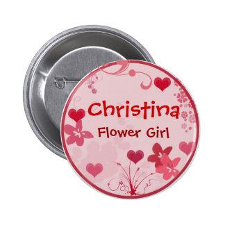 Modifique su propio botón del florista para requis pin redondo de 2 pulgadas