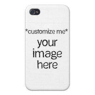 Modifique su propio diseño para requisitos particu iPhone 4 carcasa