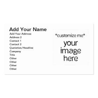 Modifique su propio diseño para requisitos particu tarjetas de visita