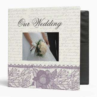 """Modifique su propio guión del boda para requisitos carpeta 1 1/2"""""""