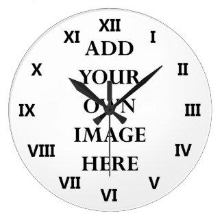 modifique sus números romanos del reloj para requi