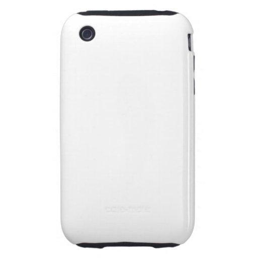 Modifiqúelo para requisitos particulares - caso en iPhone 3 tough protector