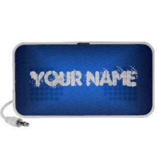 Modifiqúelo para requisitos particulares (el azul) laptop altavoz