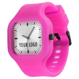 Modify Watch Promotional Custom Logo Sporty Pink