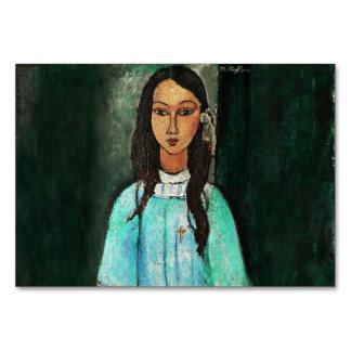Modigliani Alice Vintage Fine Art Painting Card