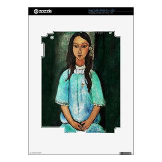 Modigliani Alice Vintage Fine Art Painting iPad 2 Skins