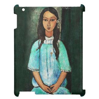 Modigliani Alice Vintage Fine Art Painting iPad Cases