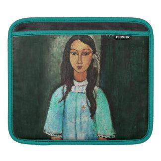 Modigliani Alice Vintage Fine Art Painting iPad Sleeve