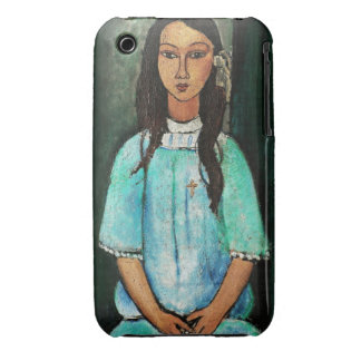 Modigliani Alice Vintage Fine Art Painting iPhone 3 Case-Mate Case