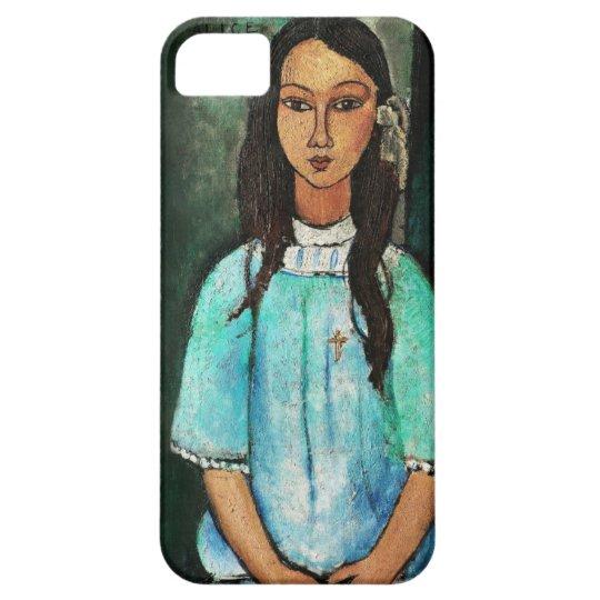 Modigliani Alice Vintage Fine Art Painting iPhone SE/5/5s Case