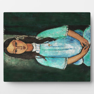 Modigliani Alice Vintage Fine Art Painting Photo Plaques