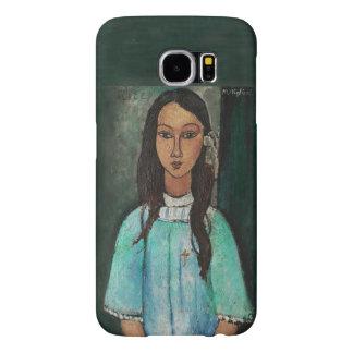 Modigliani Alice Vintage Fine Art Painting Samsung Galaxy S6 Cases