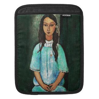 Modigliani Alice Vintage Fine Art Painting Sleeves For iPads