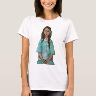 Modigliani Alice Vintage Fine Art Painting T-Shirt