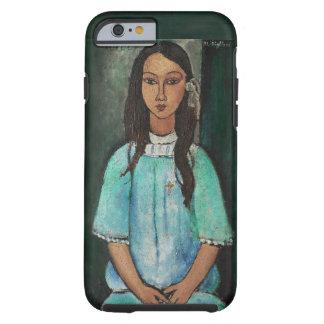 Modigliani Alice Vintage Fine Art Painting Tough iPhone 6 Case