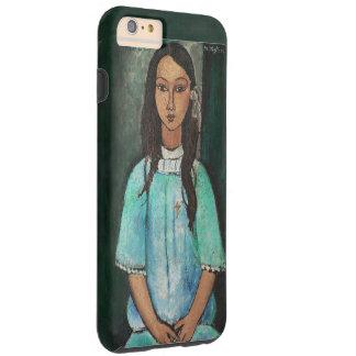 Modigliani Alice Vintage Fine Art Painting Tough iPhone 6 Plus Case