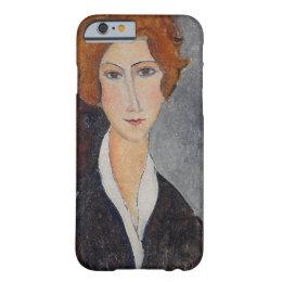 Modigliani Amedeo Portrait Barely There iPhone 6 Case