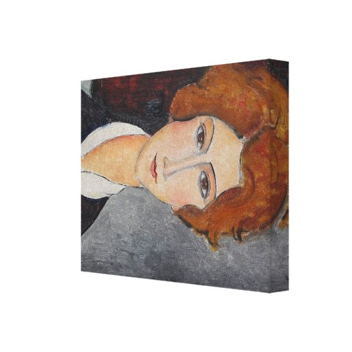 Modigliani Amedeo Portrait Canvas Print