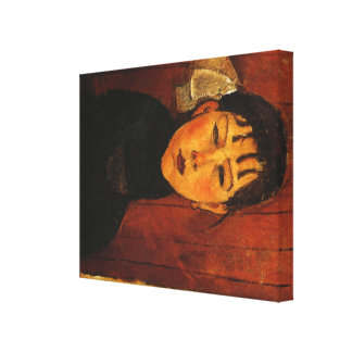 Modigliani Amedeo Portrait Canvas Print