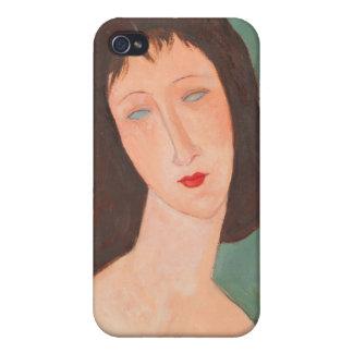 Modigliani Amedeo Portrait iPhone 4 Cases