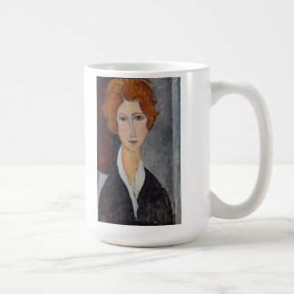 Modigliani Amedeo Portrait Coffee Mug