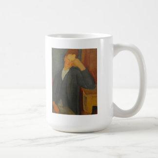 Modigliani Amedeo Portrait Mugs