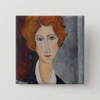 Modigliani Amedeo Portrait Pinback Button
