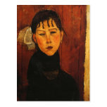 Modigliani Amedeo Portrait Post Card