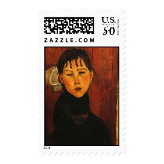 Modigliani Amedeo Portrait Postage
